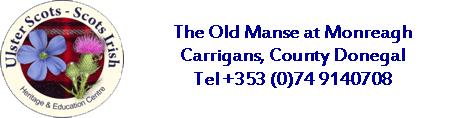Monreagh Ulster Scots & Scots Irish Centre