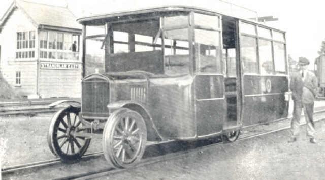 first rail car donegal